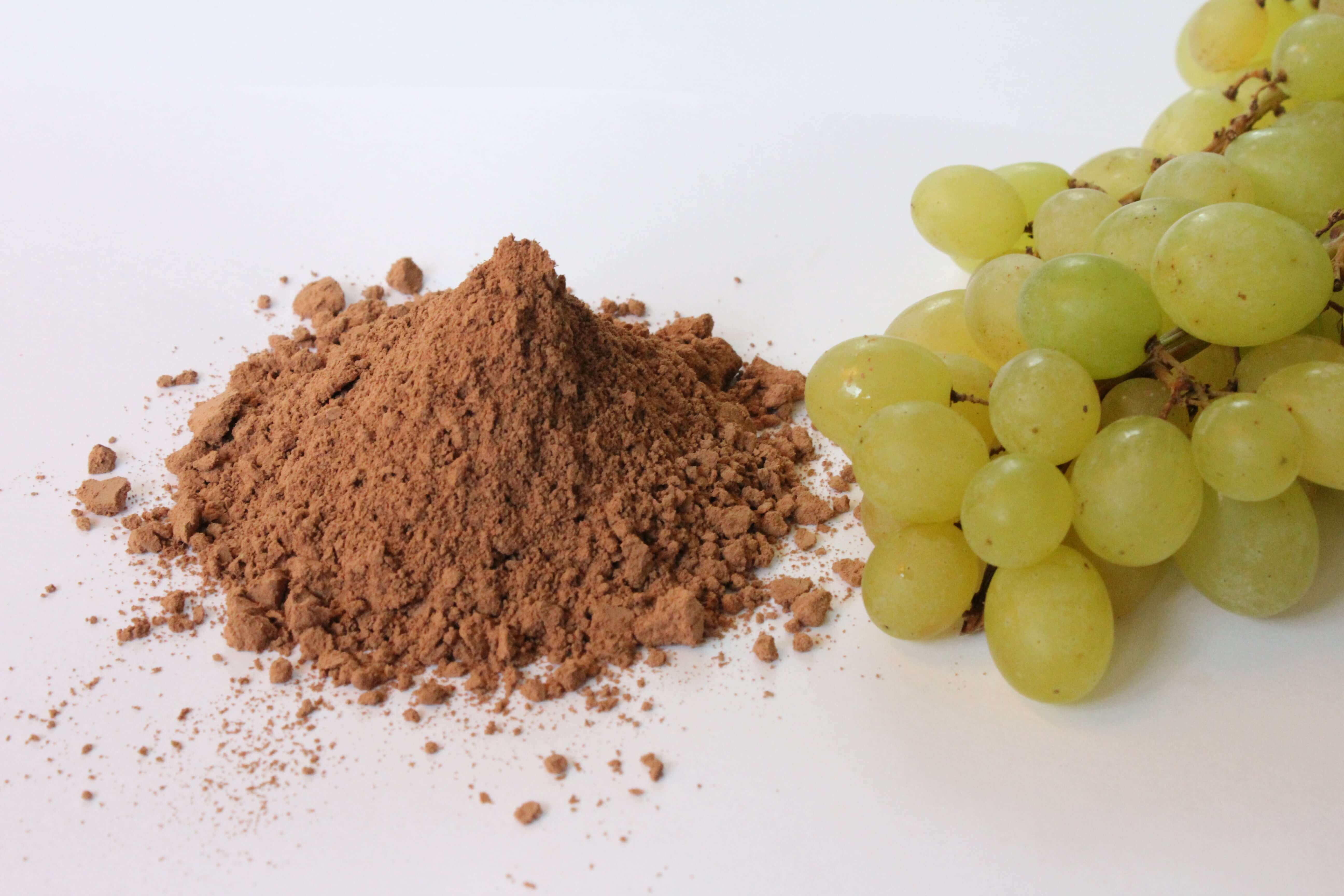 Grape seeds flour